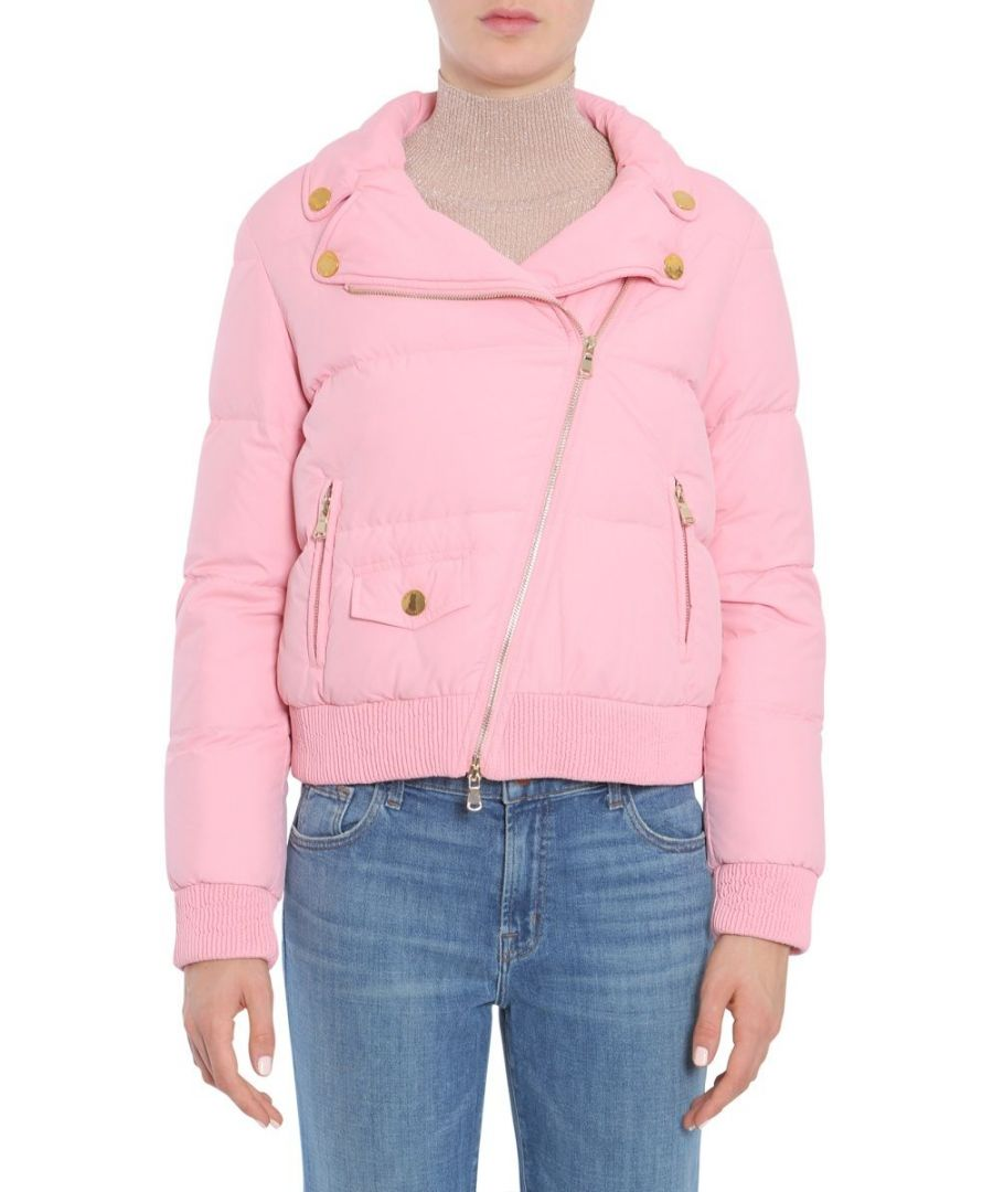 Image for BOUTIQUE MOSCHINO WOMEN'S A060258810242 PINK POLYESTER OUTERWEAR JACKET