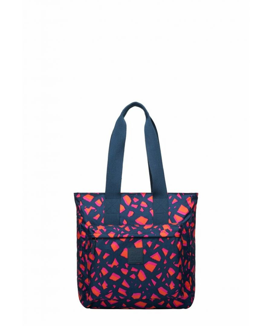 Image for KAILLIE - TORN PRINT TWIN STRAP TOTE
