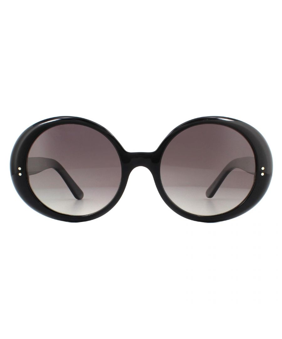 Image for Celine Sunglasses CL40065I 01F Shiny Black Brown Gradient