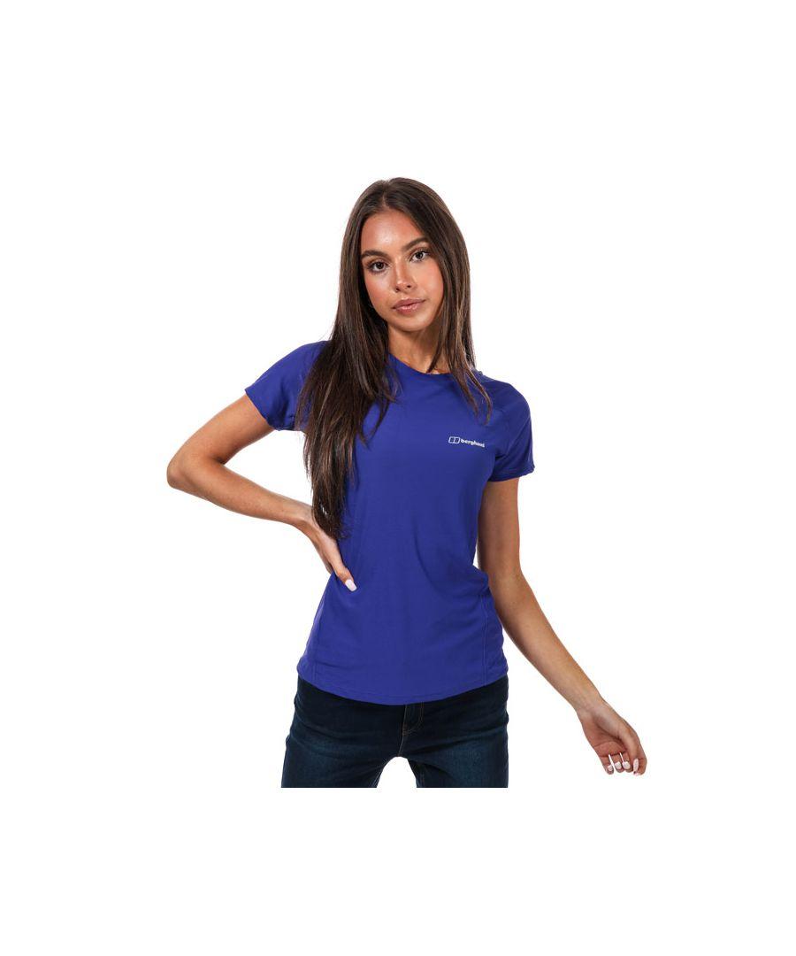 Image for Women's Berghaus 24/7 Ss Tech Baselayer T-Shirt in Purple