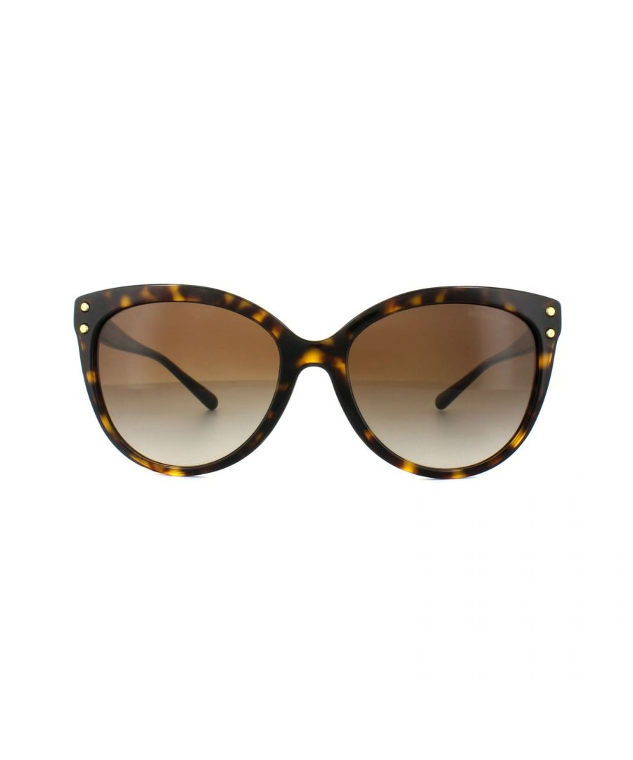 Image for Michael Kors Sunglasses Jan 2045 3006/13 Dark Havana Brown Gradient