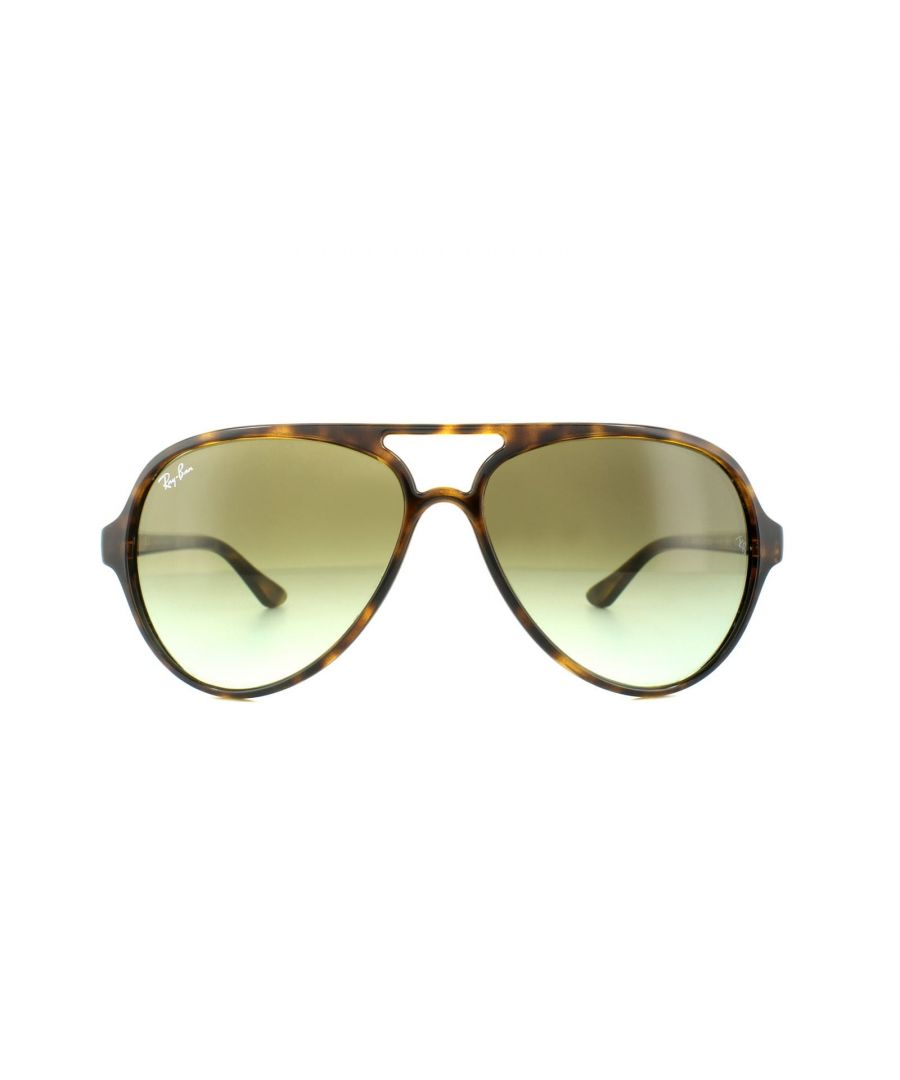 Image for Ray-Ban Sunglasses Cats 5000 4125 710/A6 Tortoise Green Gradient