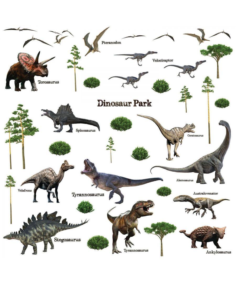 Image for Wall Art - Dinosaur Park