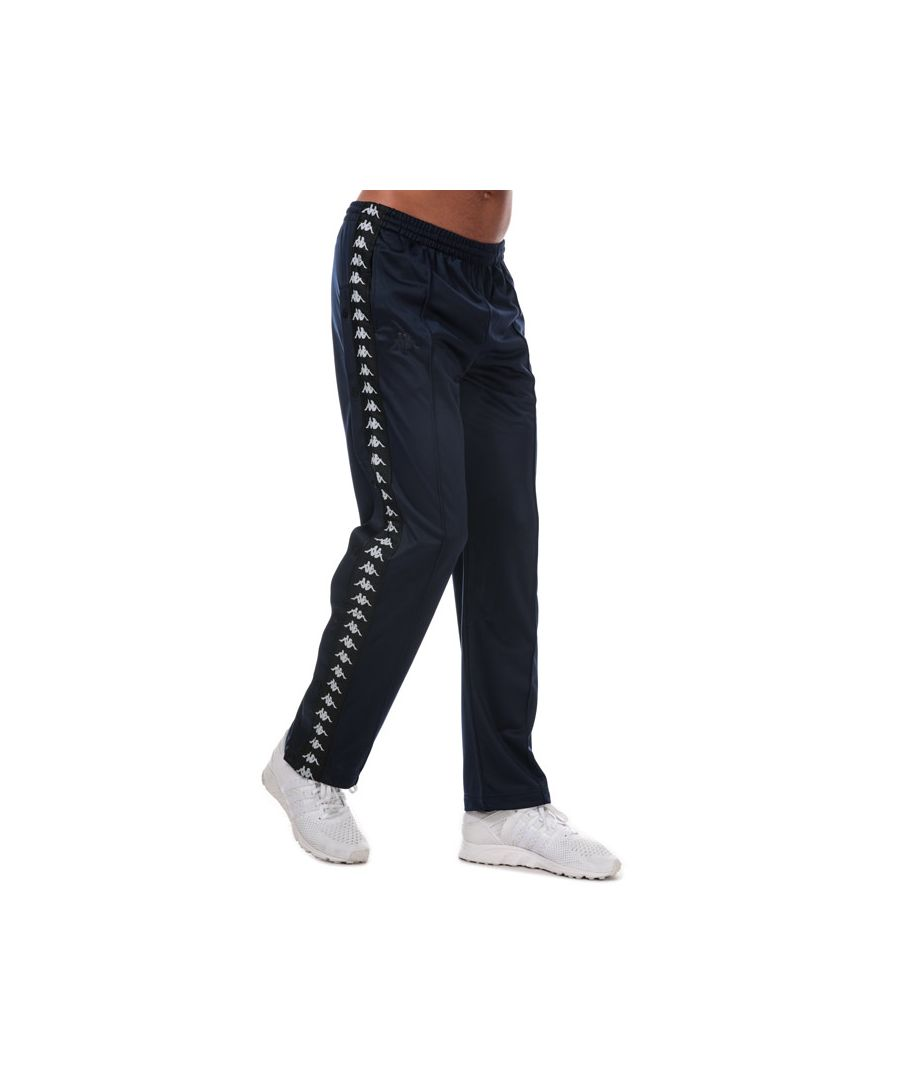 Image for Men's Kappa Banda Astoria Snaps Pants in Navy