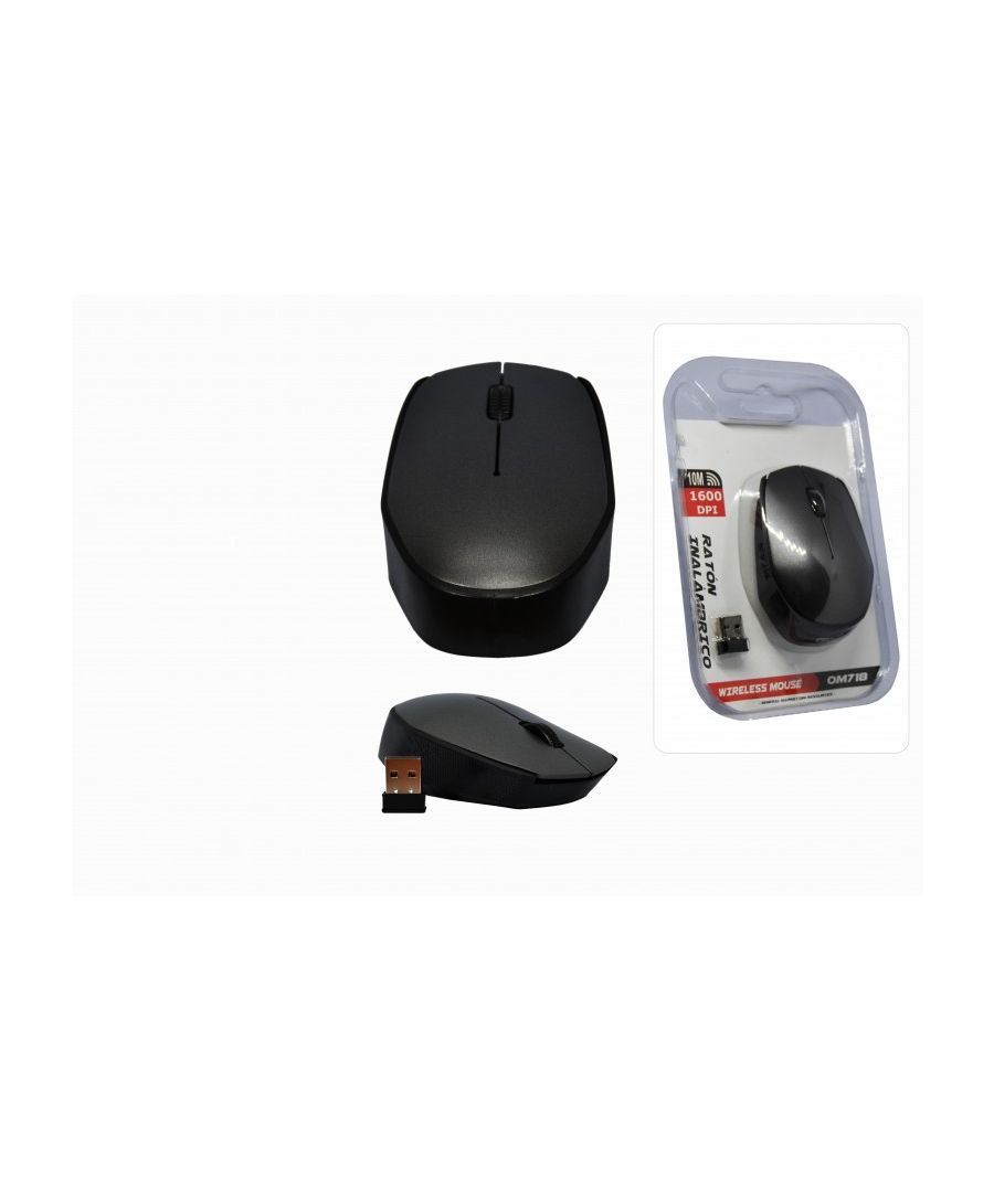 Image for Ambidextrous 1600 DPI 2.4 GHz RF Wireless Optical Mouse