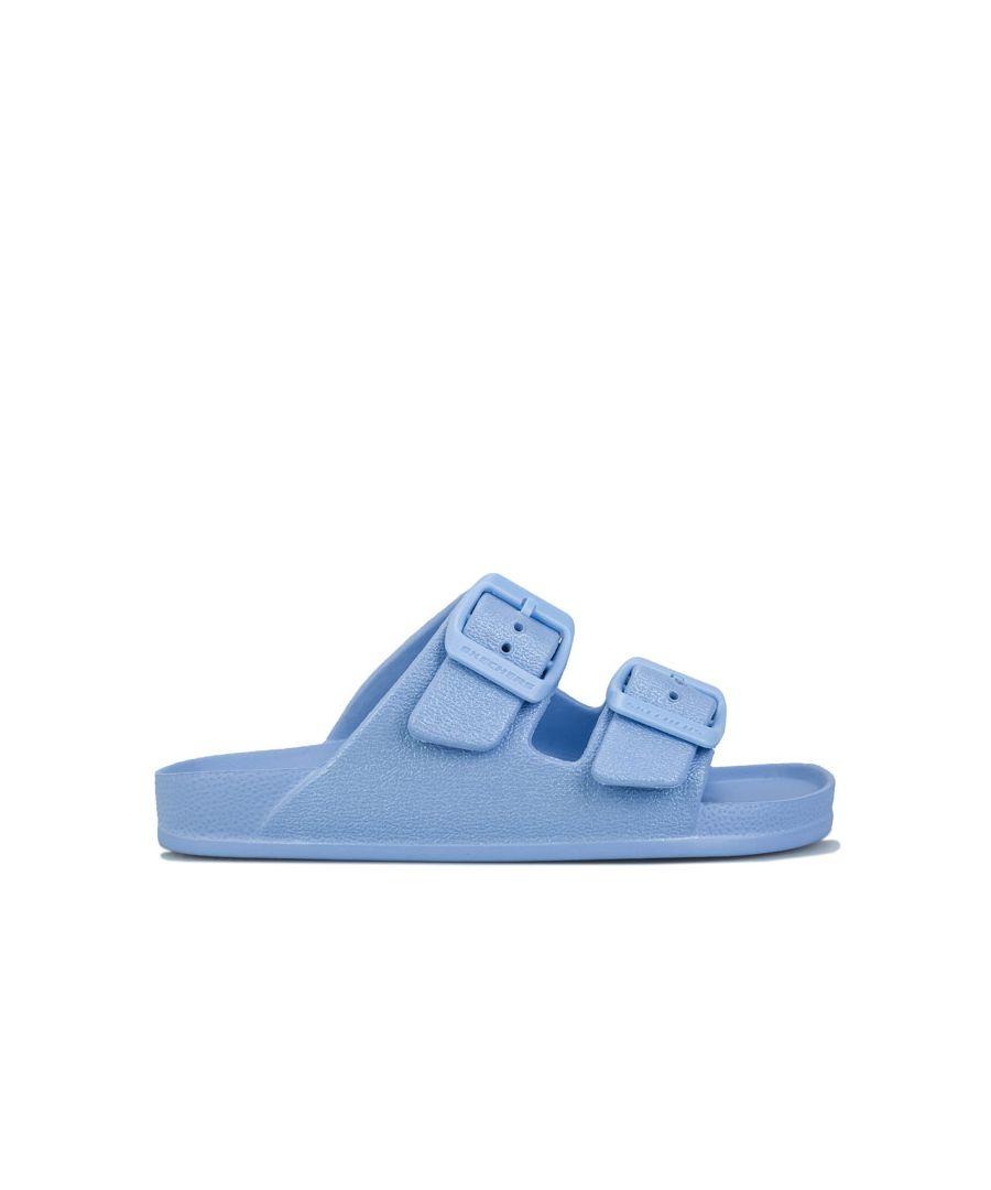 Image for Girl's Skechers Junior Cali Blast Sunshine Sandal in Blue