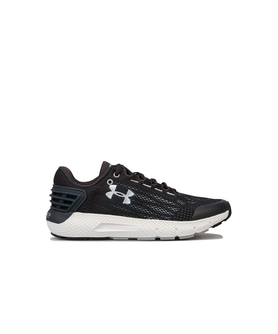 Image for Boy's Under Armour Junior Charged Rogue Trainers in Grey
