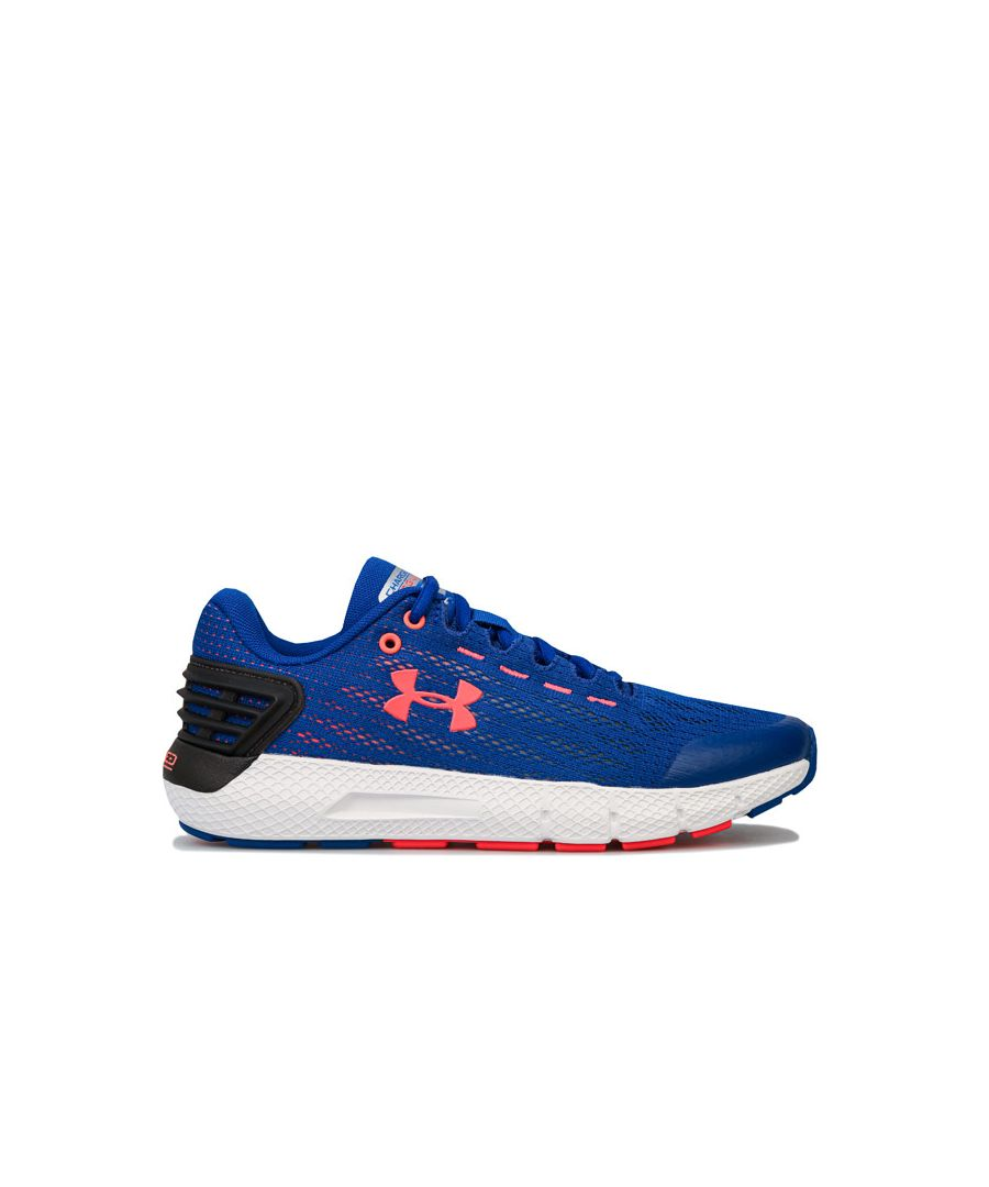 Image for Boy's Under Armour Junior Charged Rogue Trainers in Blue