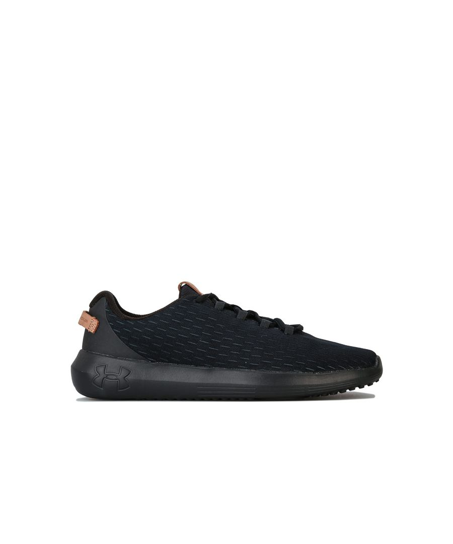 Image for Men's Under Armour UA Ripple Elevated Trainers in Black