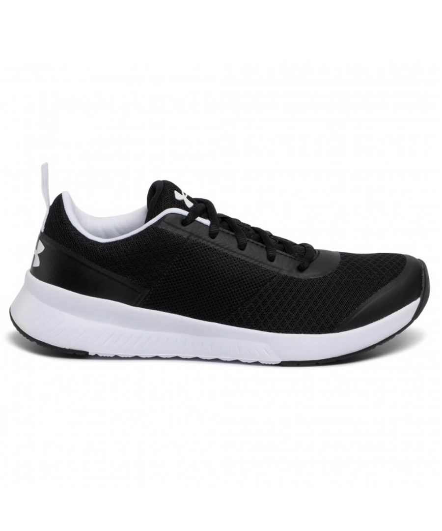 Image for Under Armour Aura Womens Training Shoe Black/White - UK 6