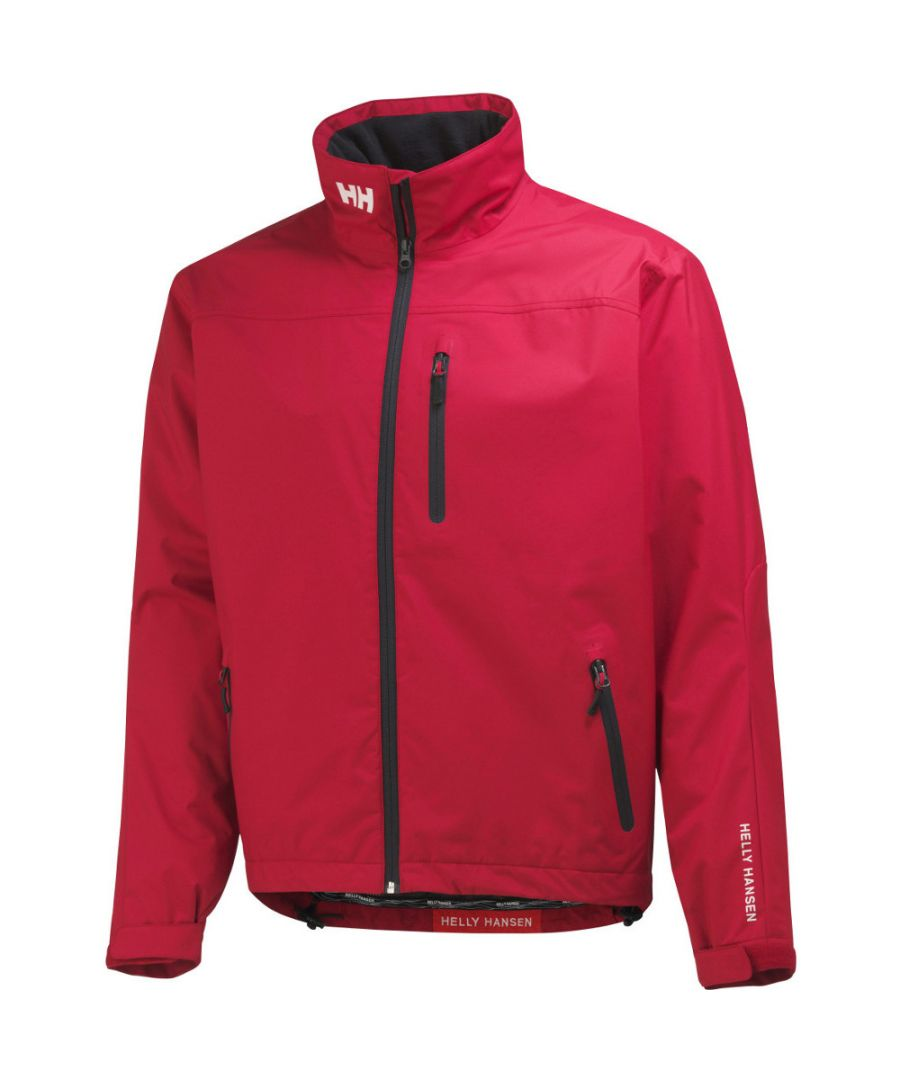 Image for Helly Hansen Mens Crew Midlayer Waterproof Breathable Sailing Jacket