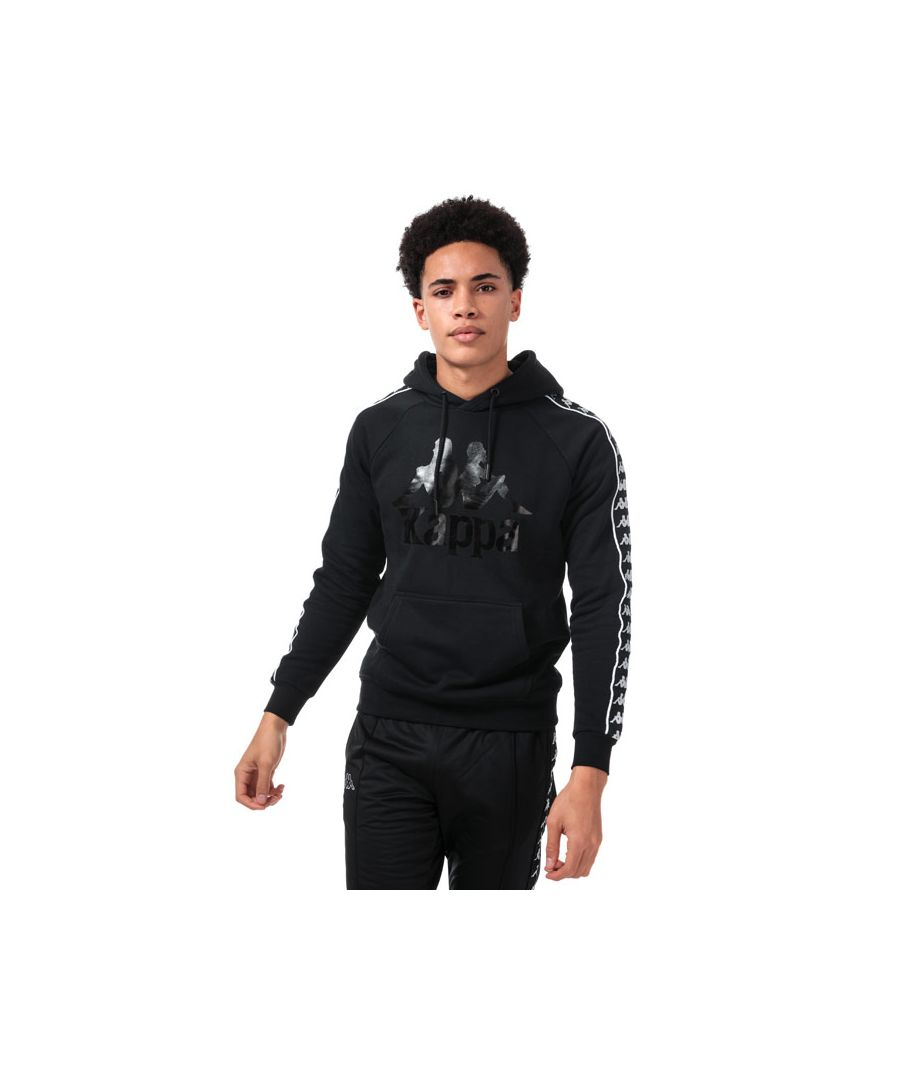 Image for Men's Kappa Hurtado Banda Sweatshirt in Black-White