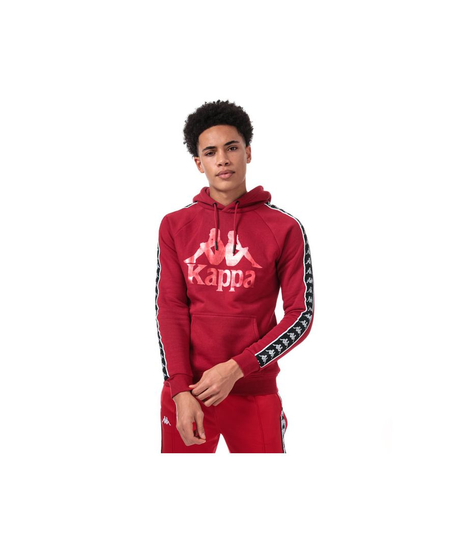 Image for Men's Kappa Hurtado Banda Sweatshirt in red black