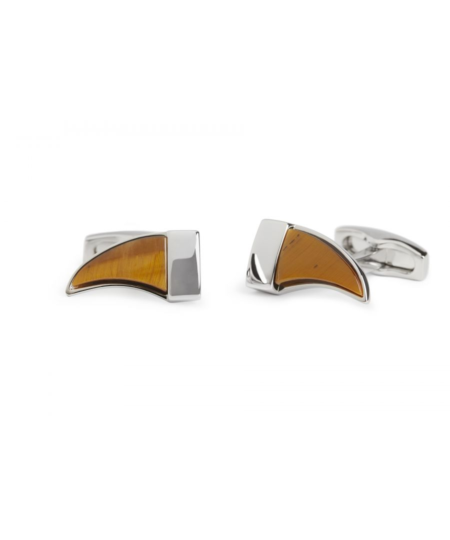 Image for Tigerseye Tusk Cufflinks