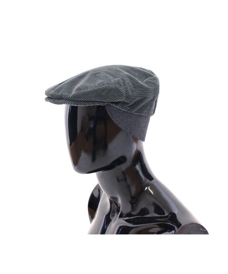 Image for Dolce & Gabbana Green Cotton Logo Hat Cabbie
