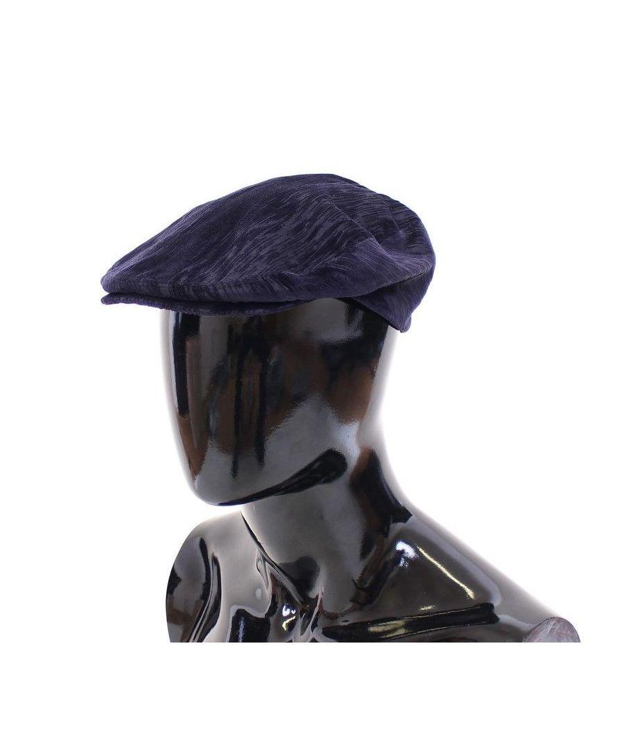 Image for Dolce & Gabbana Blue Cotton Logo Hat Cabbie