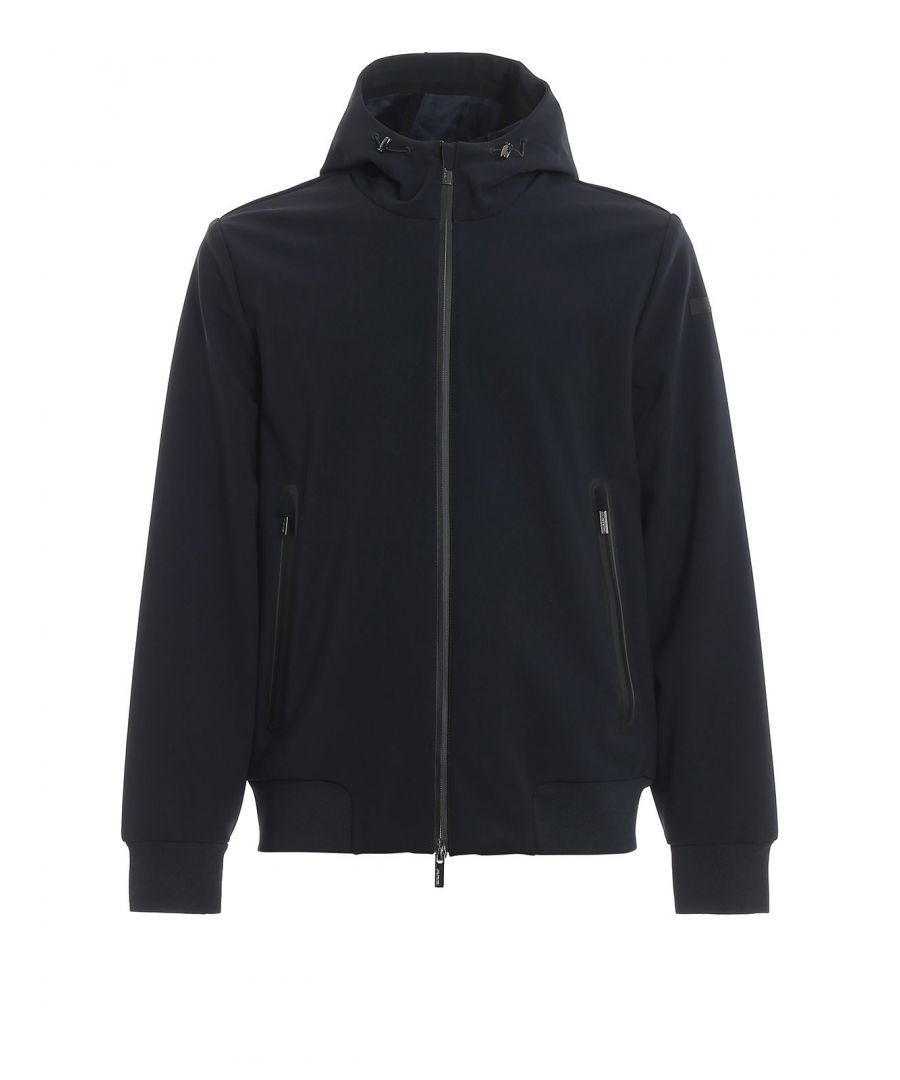 Image for RRD MEN'S W1903660 BLUE POLYESTER DOWN JACKET