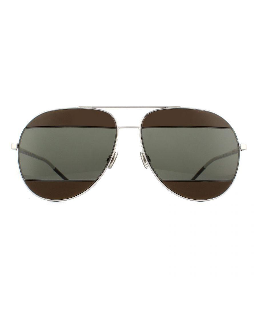 Image for Dior Sunglasses Split 2 010 6J Palladium Brown