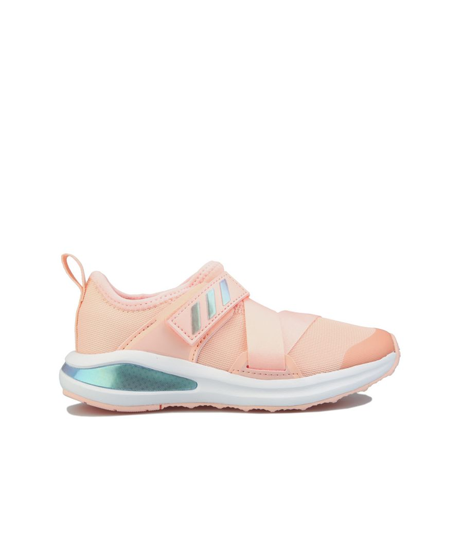 Image for Girl's adidas Children FortaRun X Trainers in Coral
