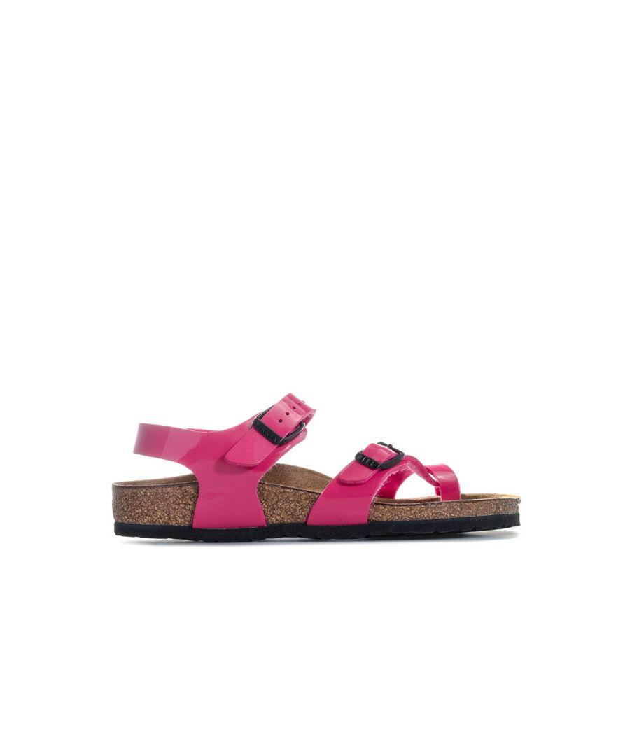 Image for Girl's Birkenstock Infant Taormina Kinder Sandal in Pink