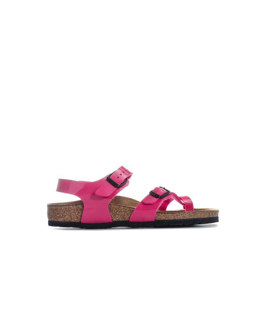 Image for Girl's Birkenstock Infant Taormina Kinder Sandals in Pink
