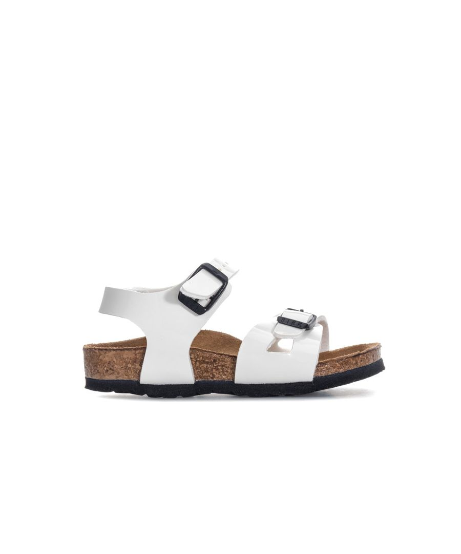 Image for Girl's Birkenstock Infant Taormina Kinder Sandals in White