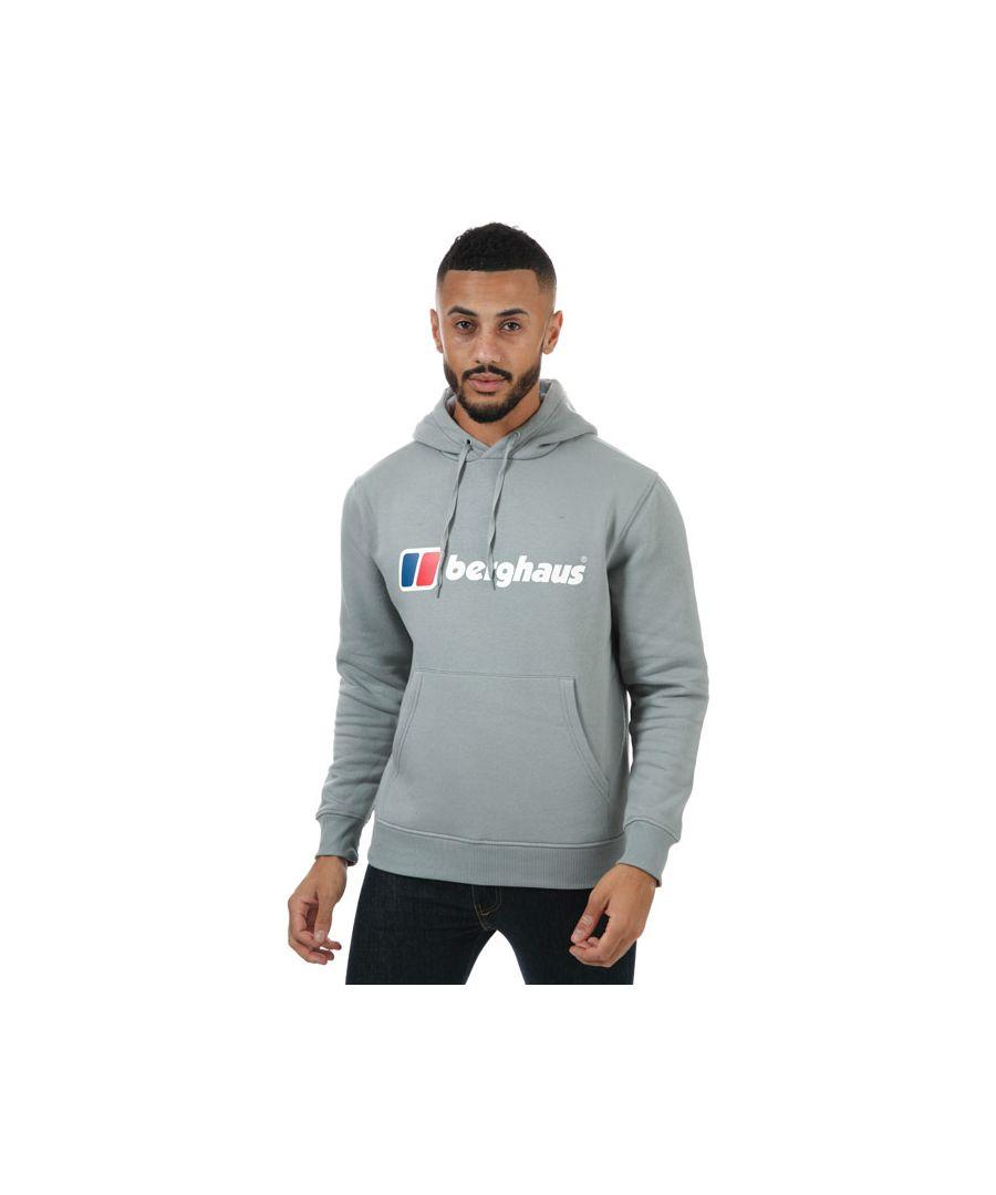 Image for Men's Berghaus Classic Logo Hoodie in Grey