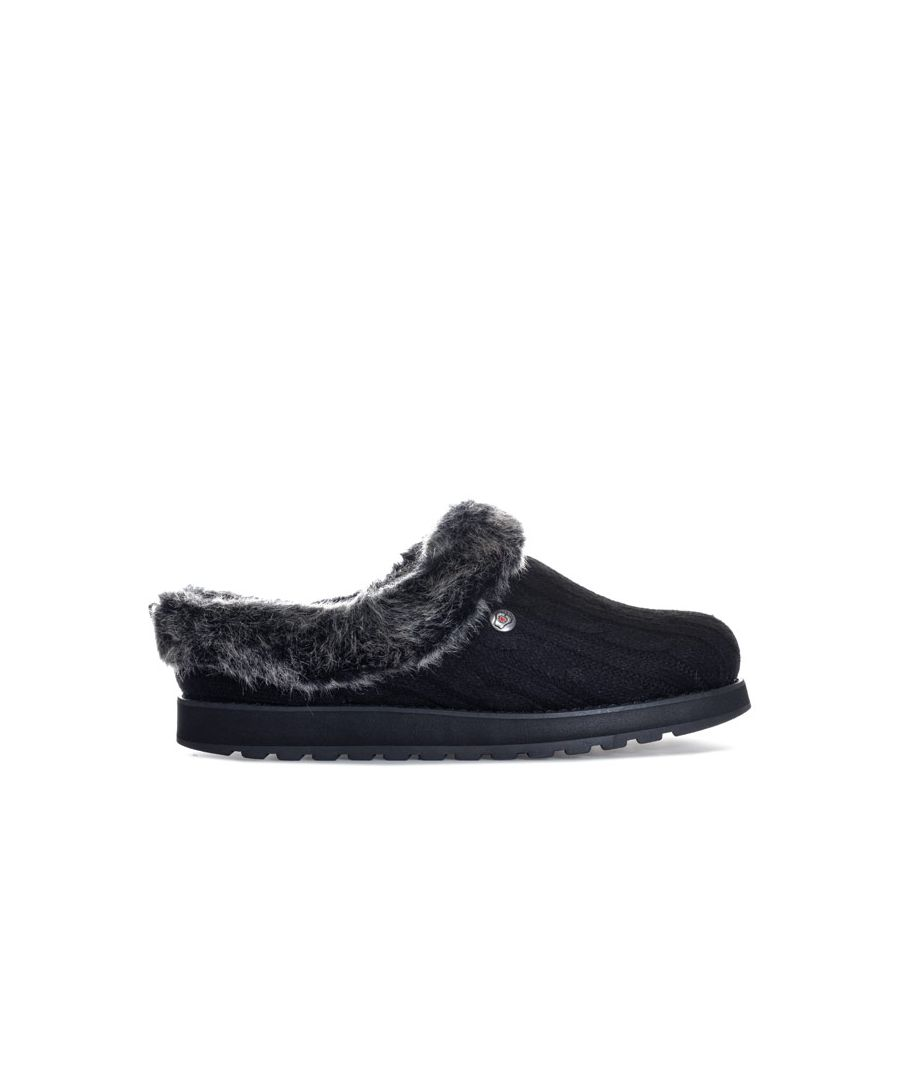 Image for Women's Skechers Keepsakes Ice Angel Slippers in Black