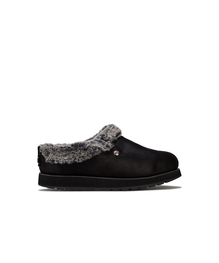 Image for Women's Skechers Keepsakes R E M Slippers in Black
