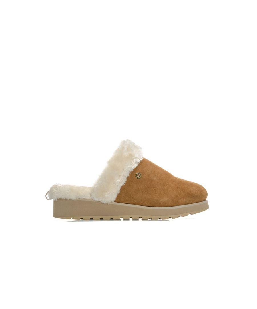 Image for Women's Skechers Keepsakes High Snow Magic Slippers in Chestnut