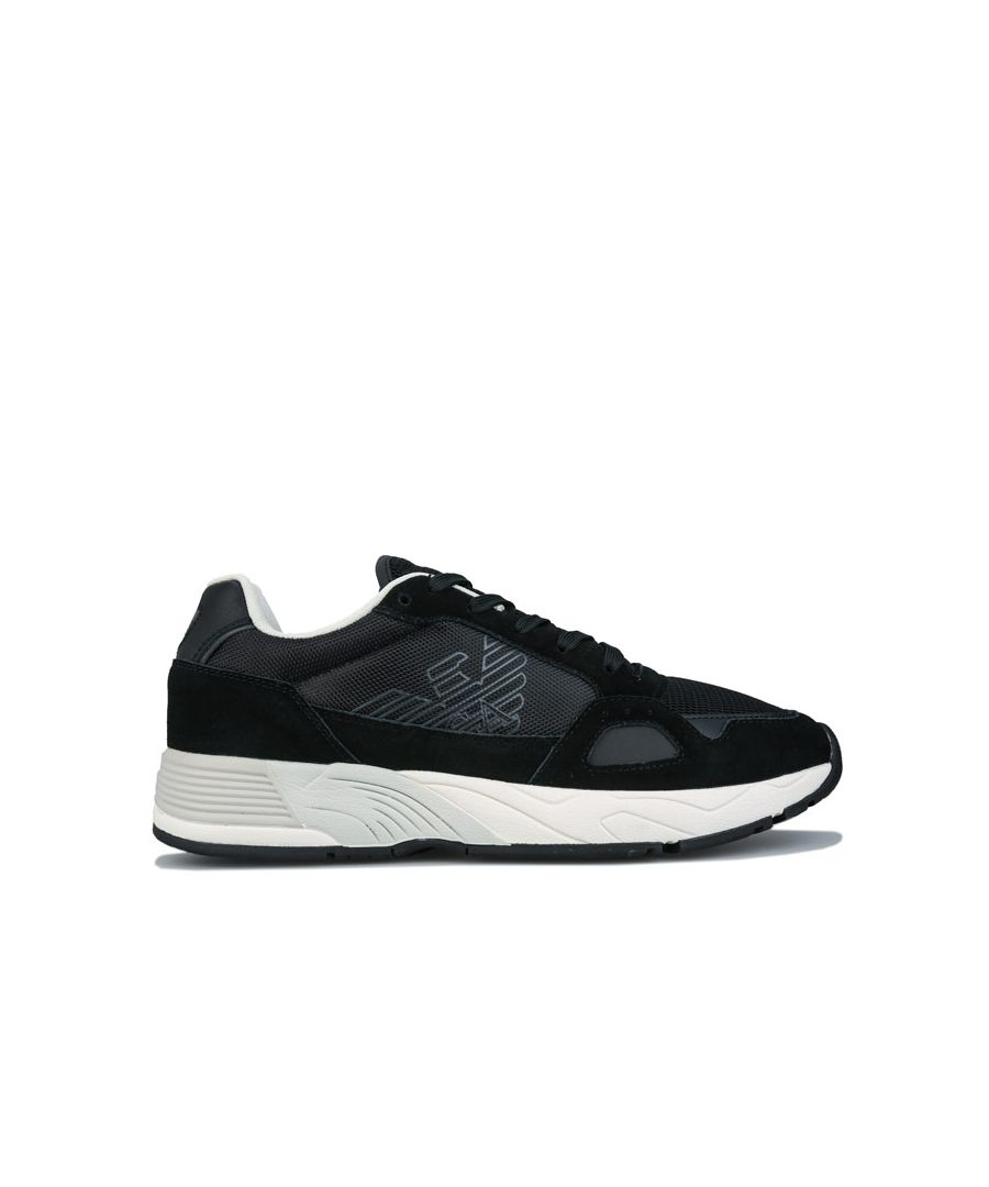 Image for Men's Armani Zatch Runners Trainers in Black