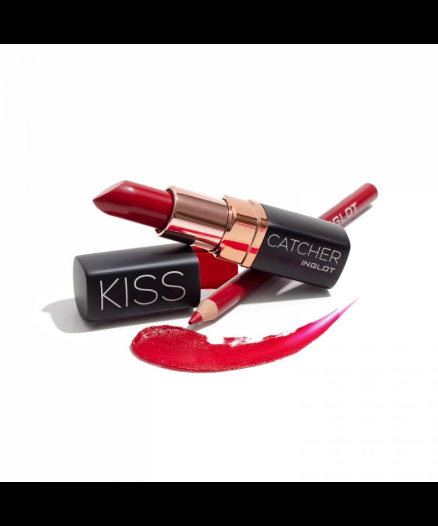 Image for New Inglot Kiss Catcher Collection Lipstick Makeup Gift Set - Tango Kiss