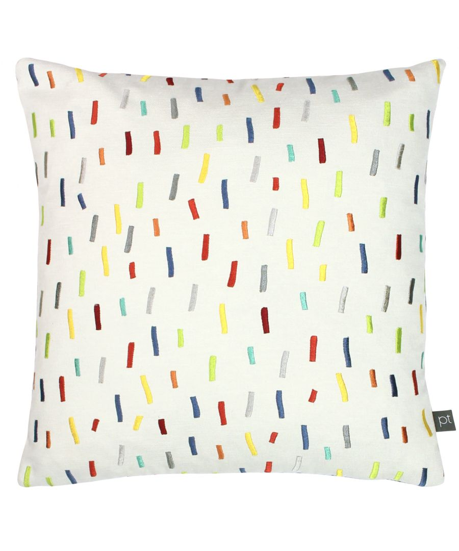 Image for Prestigious Textiles Dolly Mixture Polyester Filled Cushion, Polyester, Cotton, Jungle