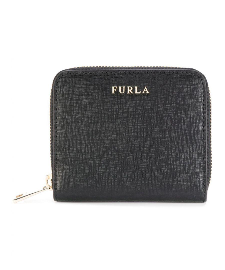Image for FURLA WOMEN'S 907856 BLACK LEATHER WALLET