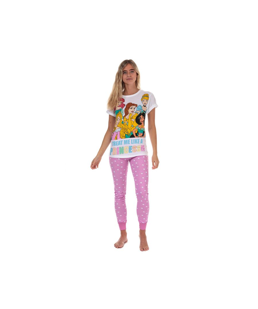 Image for Women's Disney Princess Pyjamas in Pink
