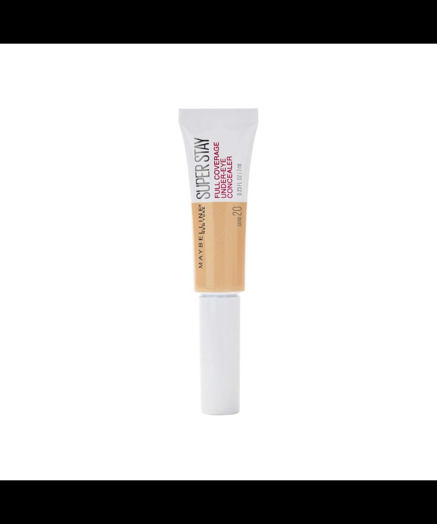 Image for Maybelline Superstay Full Coverage Under-Eye Concealer 6ml - 20 Sand