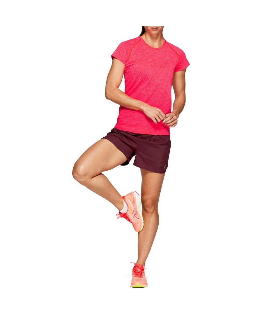 Image for Asics Womens 3.5In Shorts Elasticated Waist Sports Training Bottoms