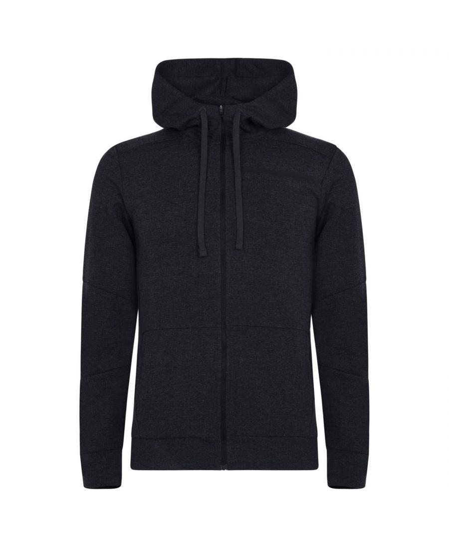Image for Asics Mens Tailored Full Zip Hoodie Drawcord Long Sleeve Activewear Hoodie Top