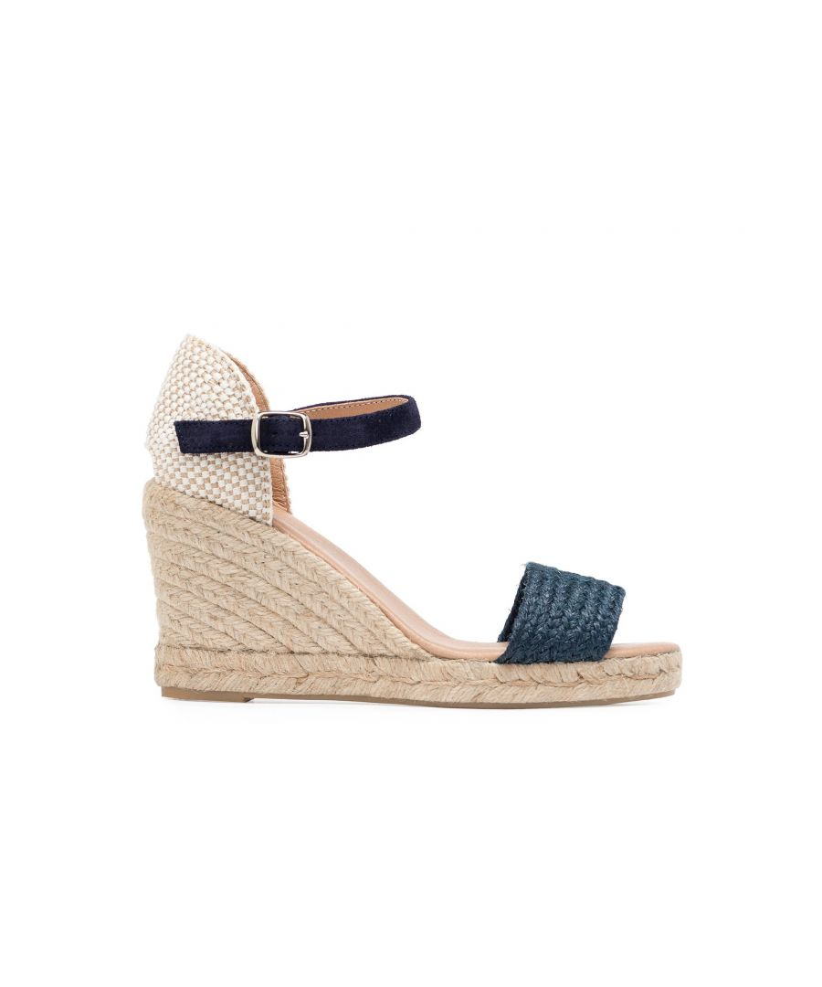 Image for Eva Lopez Ankle Strap Wedge Sandals Women Summer