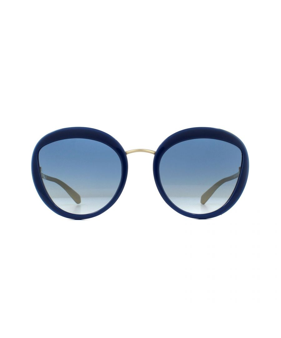 Image for Bvlgari Sunglasses 8191 11204L Blue Dark Blue Gradient