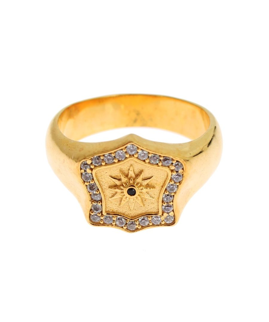 Image for Nialaya Gold Plated 925 Sterling Silver Ring