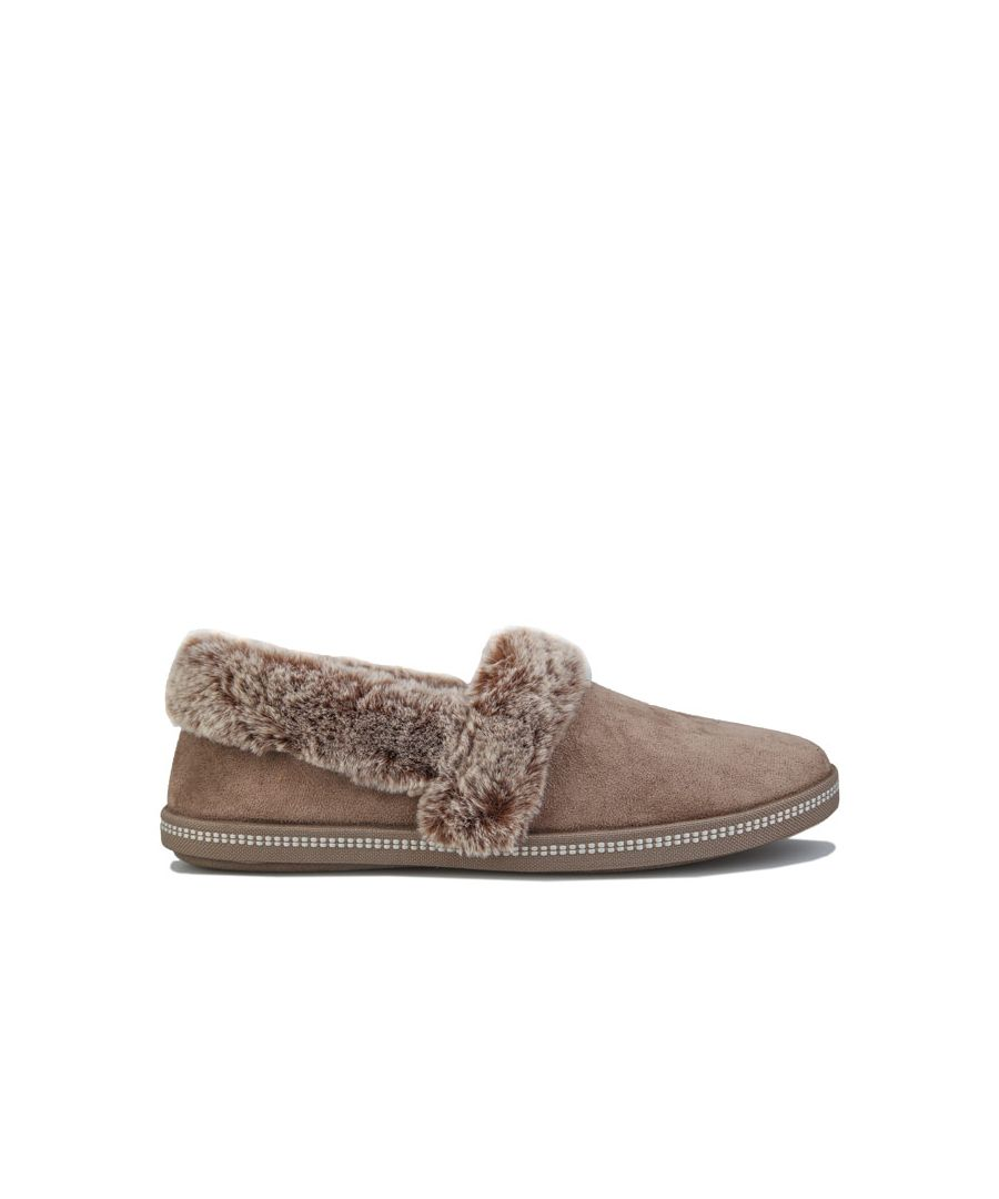 Image for Women's Skechers Cozy Campfire Team Toasty Slippers in Taupe