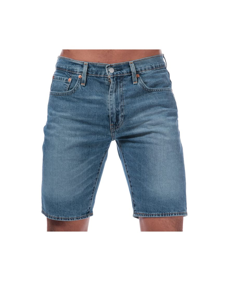 Image for Men's Levis 502 Taper Shorts in Denim