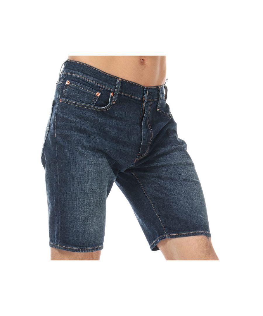 Image for Men's Levis 502 Taper Shorts in Denim