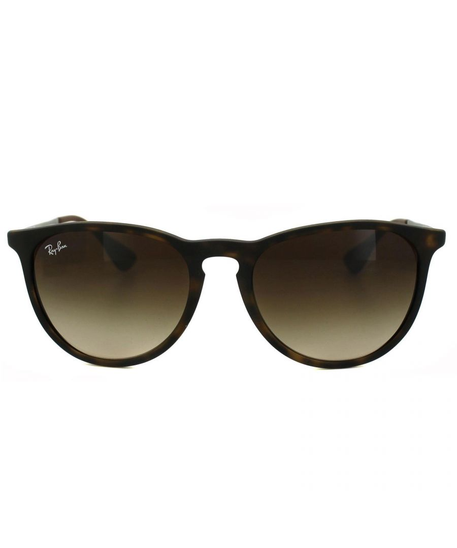 Image for Ray-Ban Sunglasses Erika 4171 Rubberised Havana Brown Gradient 865/13