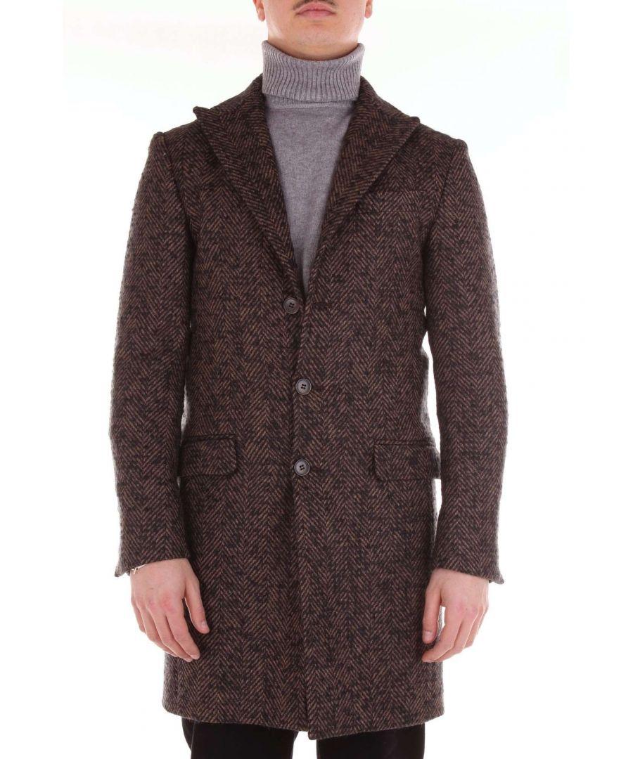 Image for BRIAN DALES MEN'S S26JK4019BROWN BROWN VISCOSE COAT