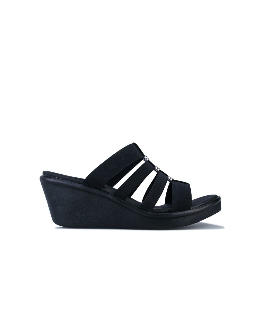 Image for Women's Skechers Rumble On City Fever Sandals in Black