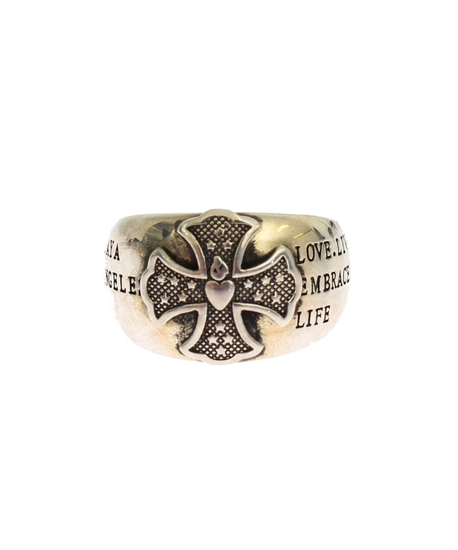 Image for Nialaya Silver Crest 925 Sterling Ring