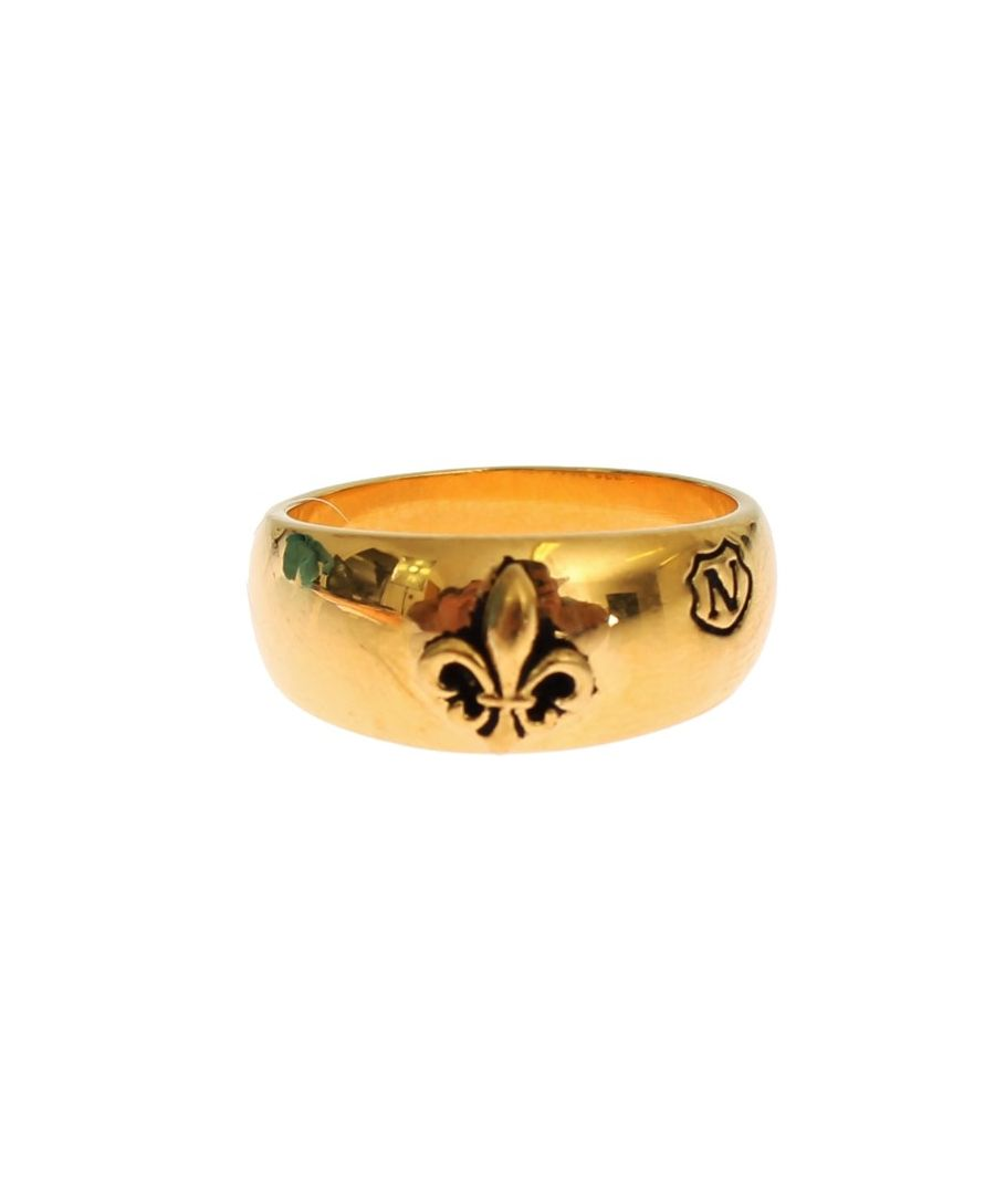 Image for Nialaya Gold Plated 925 Silver Ring