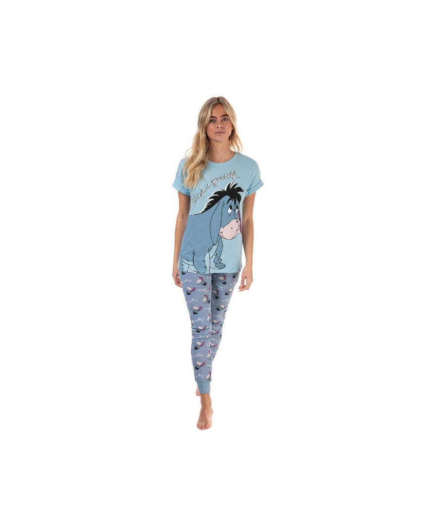 Image for Women's Disney Eeyore Pyjamas in Blue